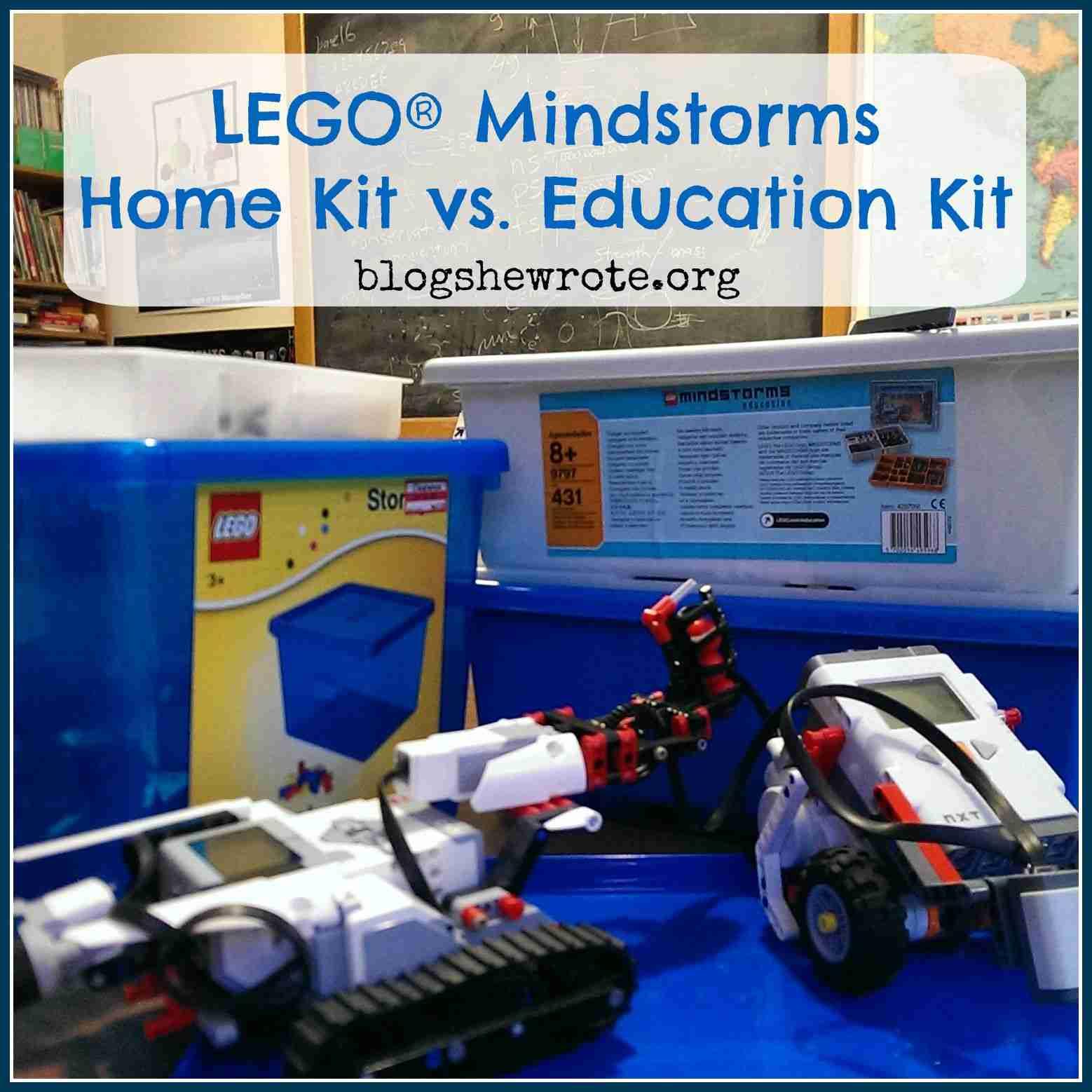 Lego Mindstorms Home Kit Vs Education Kit Blog She Wrote
