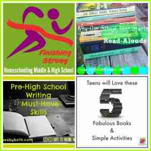 Finishing Strong- Homeschooling Middle & High School