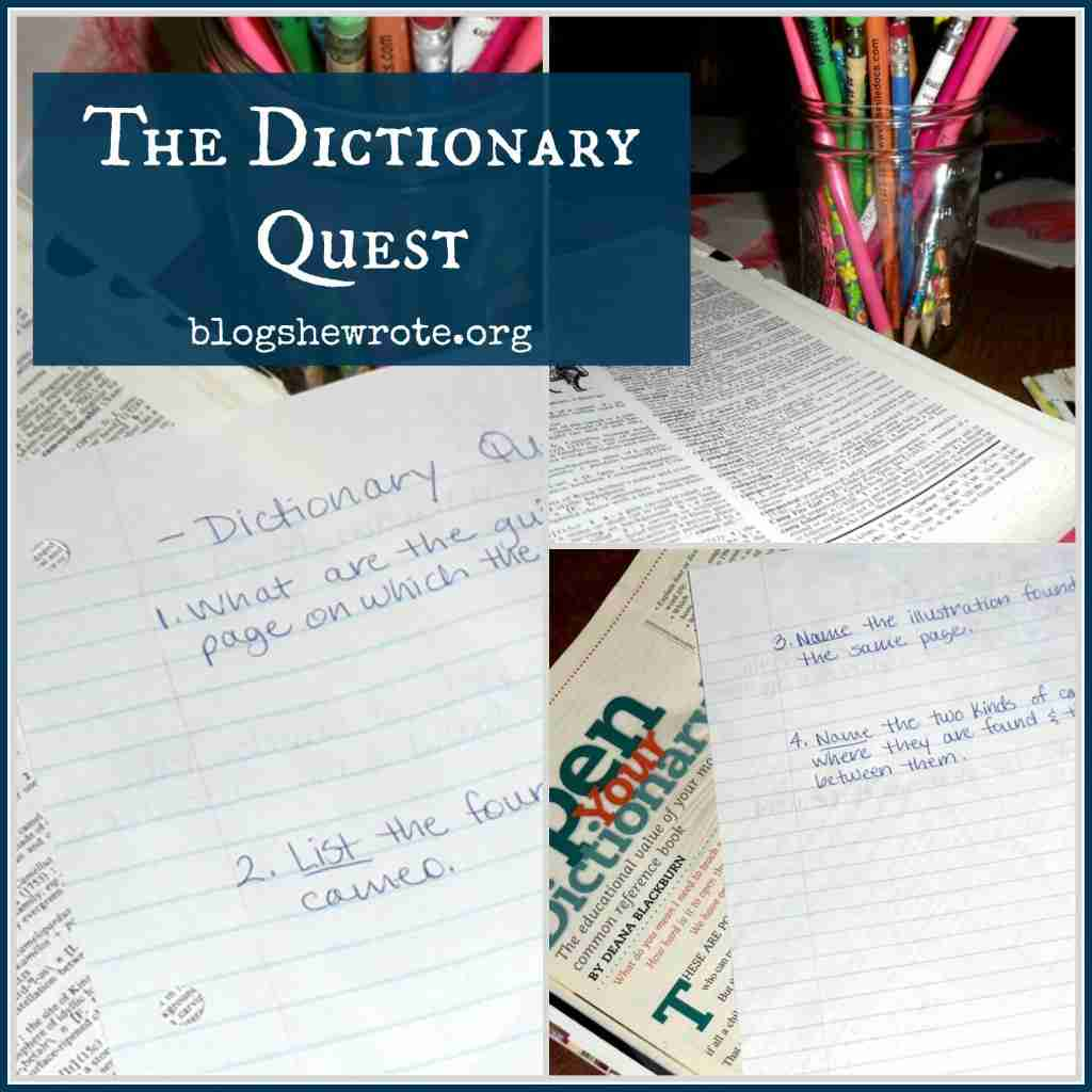 The Dictionary Quest