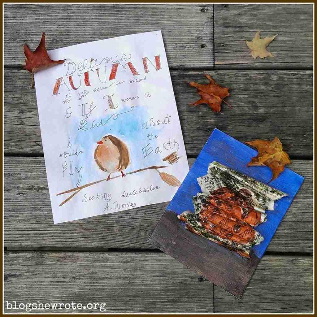 Autumn Art Plans