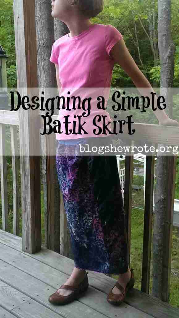 Designing a Simple Batik Skirt