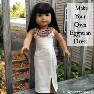 Make Your Own Egyptian Dress