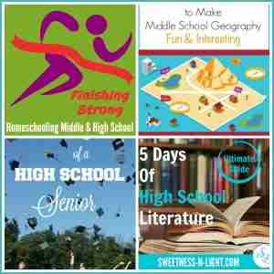 Finishing Strong- Homeschooling the Middle & High School Years 68