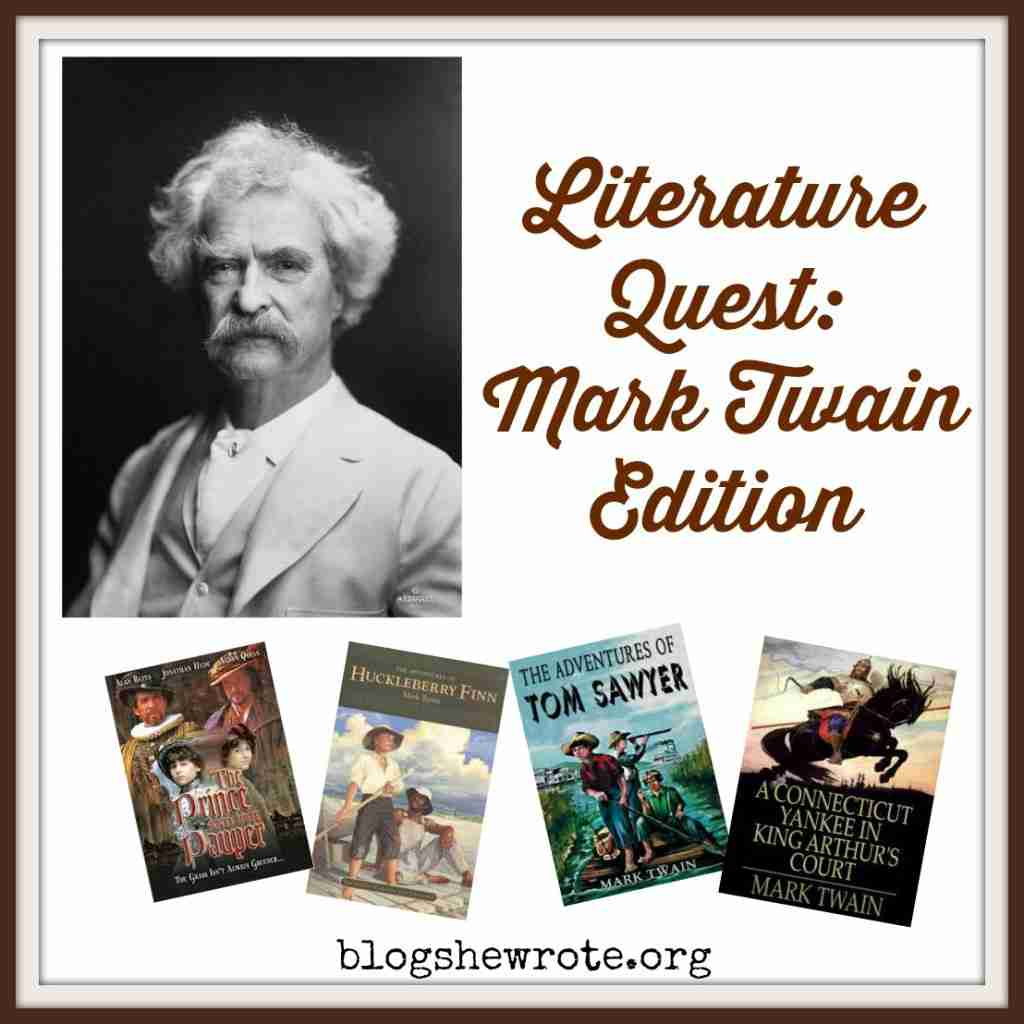 Literature Quest Mark Twain Edition