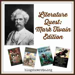 Literature Quest: Mark Twain Edition