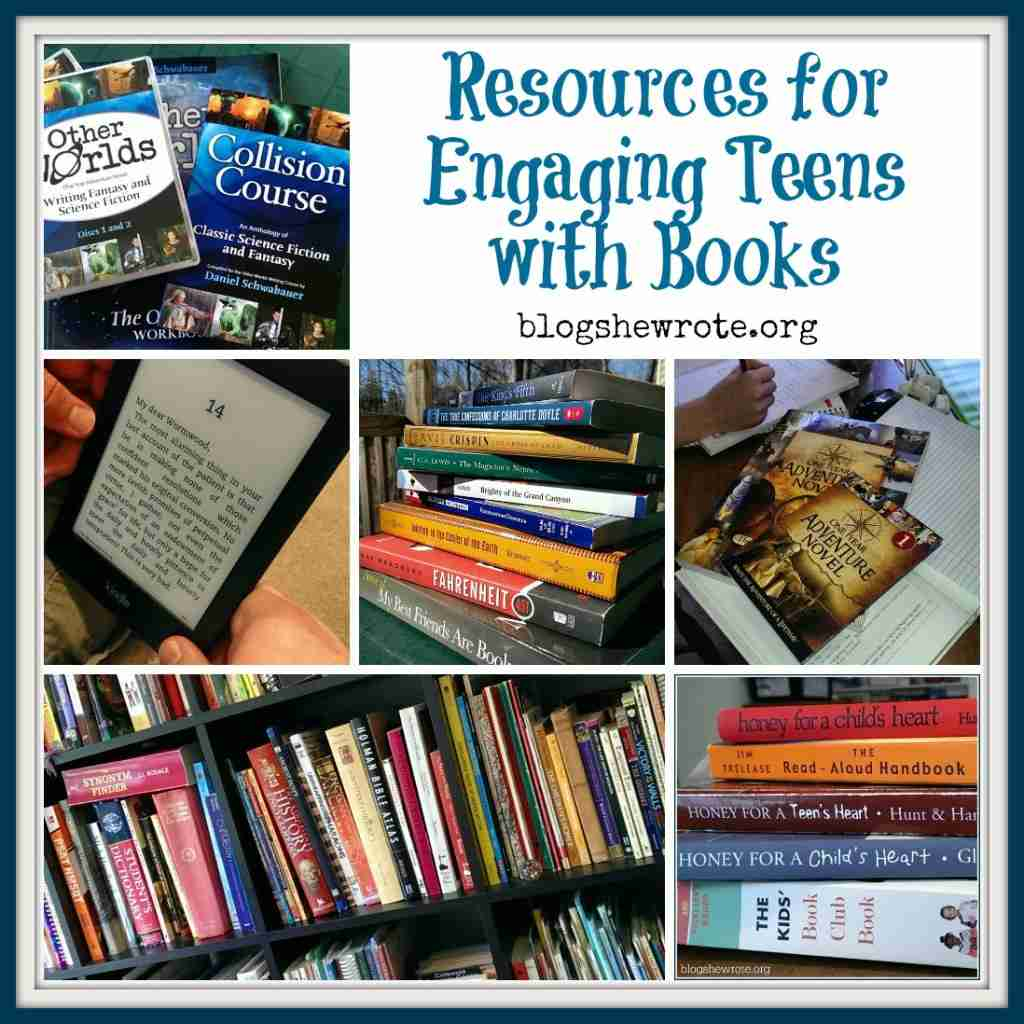 Resources for Engaging Your Teens with Books