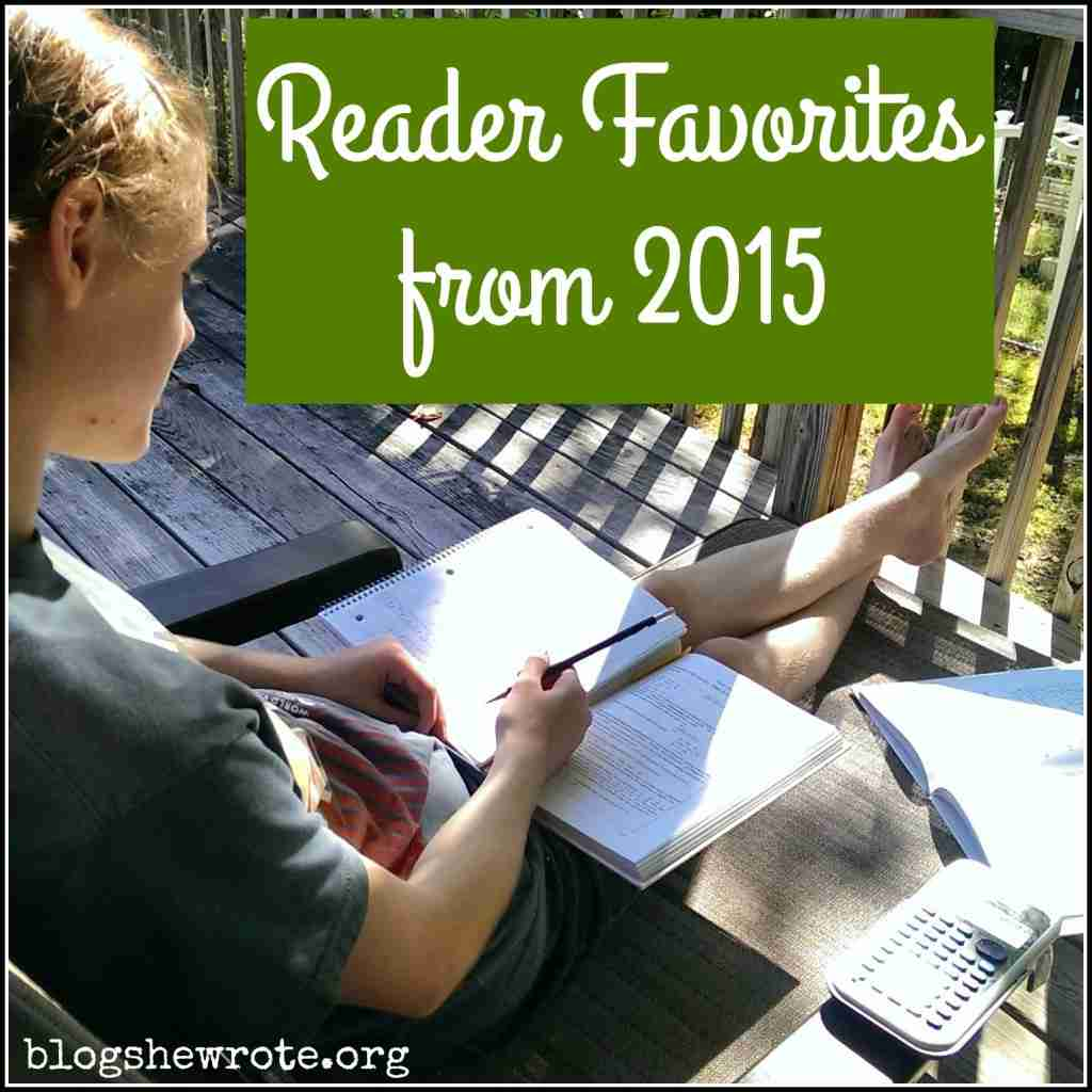 Reader Favorites 2015