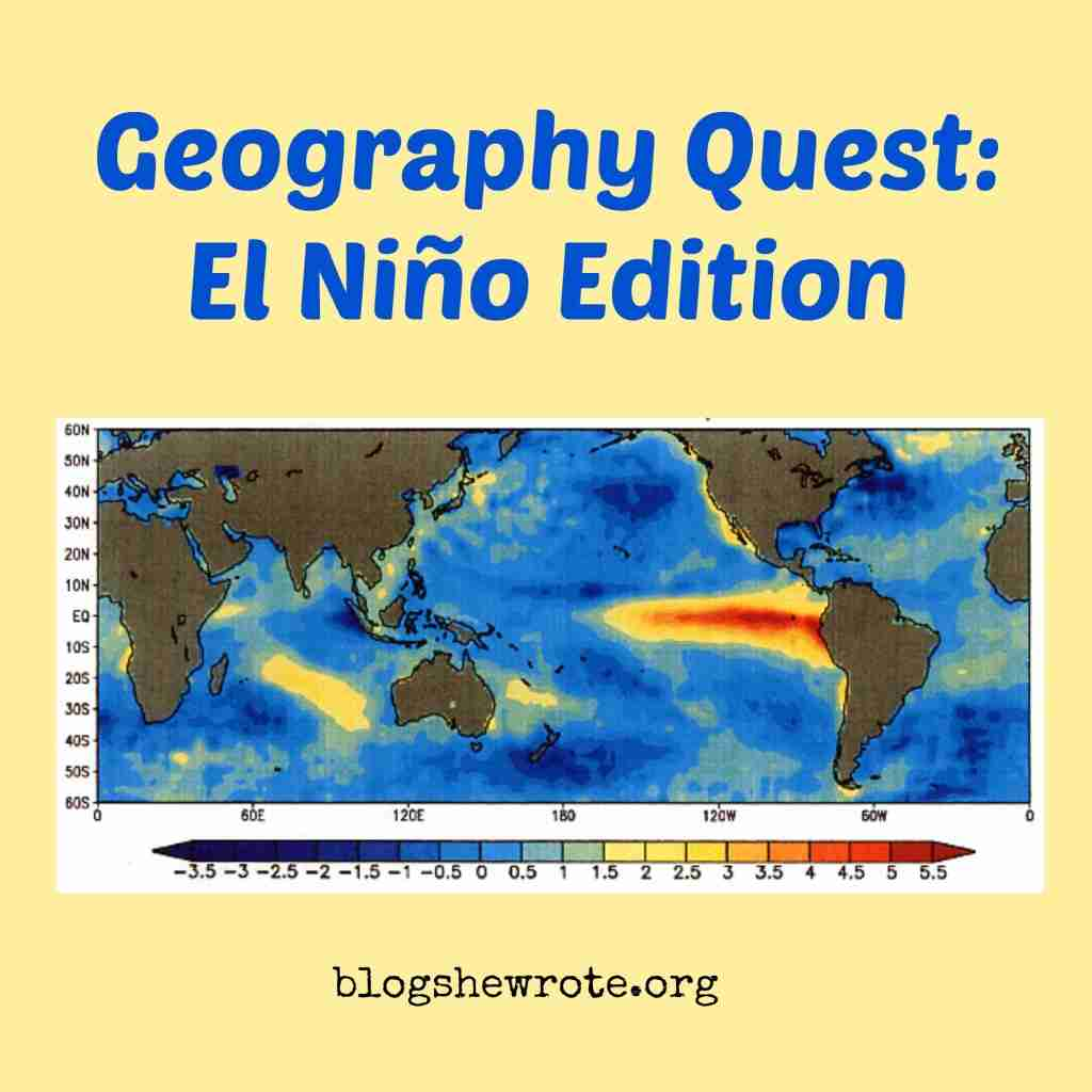 Geography Quest El Niño Edition