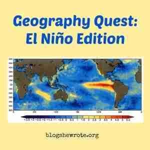 Geography Quest: El Niño Edition