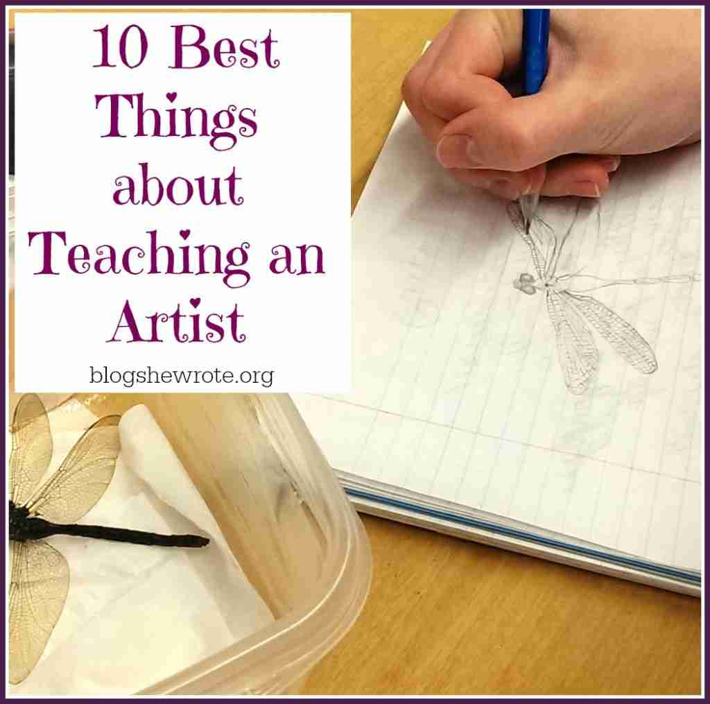 10 Best Things about Teaching an Artist