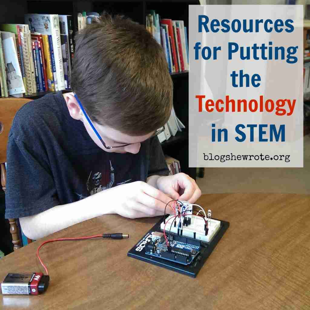 Resources for Putting the Technology in STEM