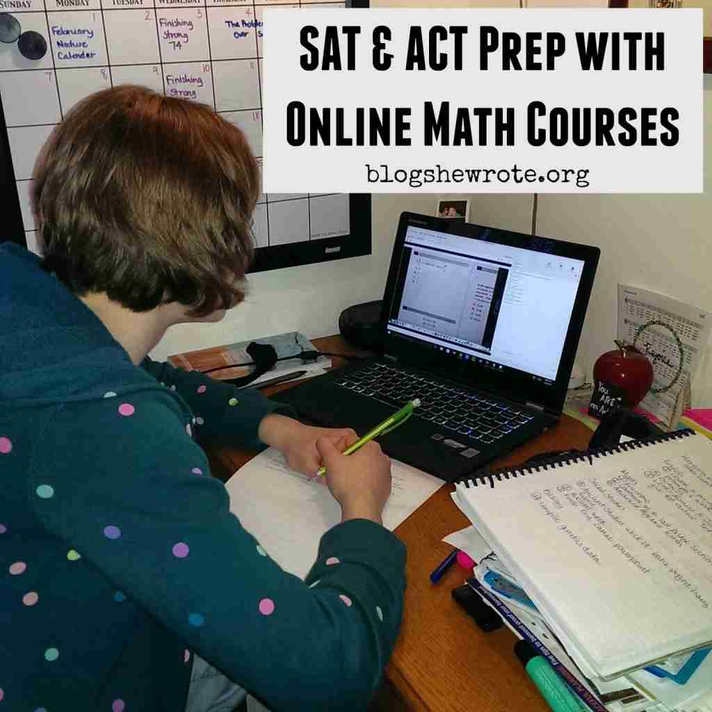 SAT ACT Prep with Online Math Courses Blog She Wrote – Math Worksheet Online