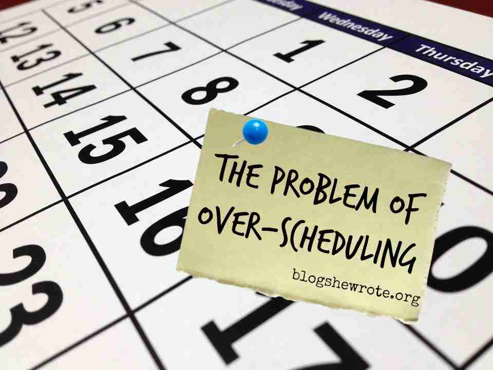 The Problem with Over-Scheduling