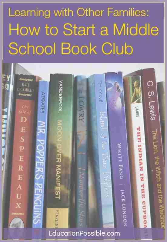 MIddle School Book Club