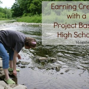 Earning Credits with a Project Based High School
