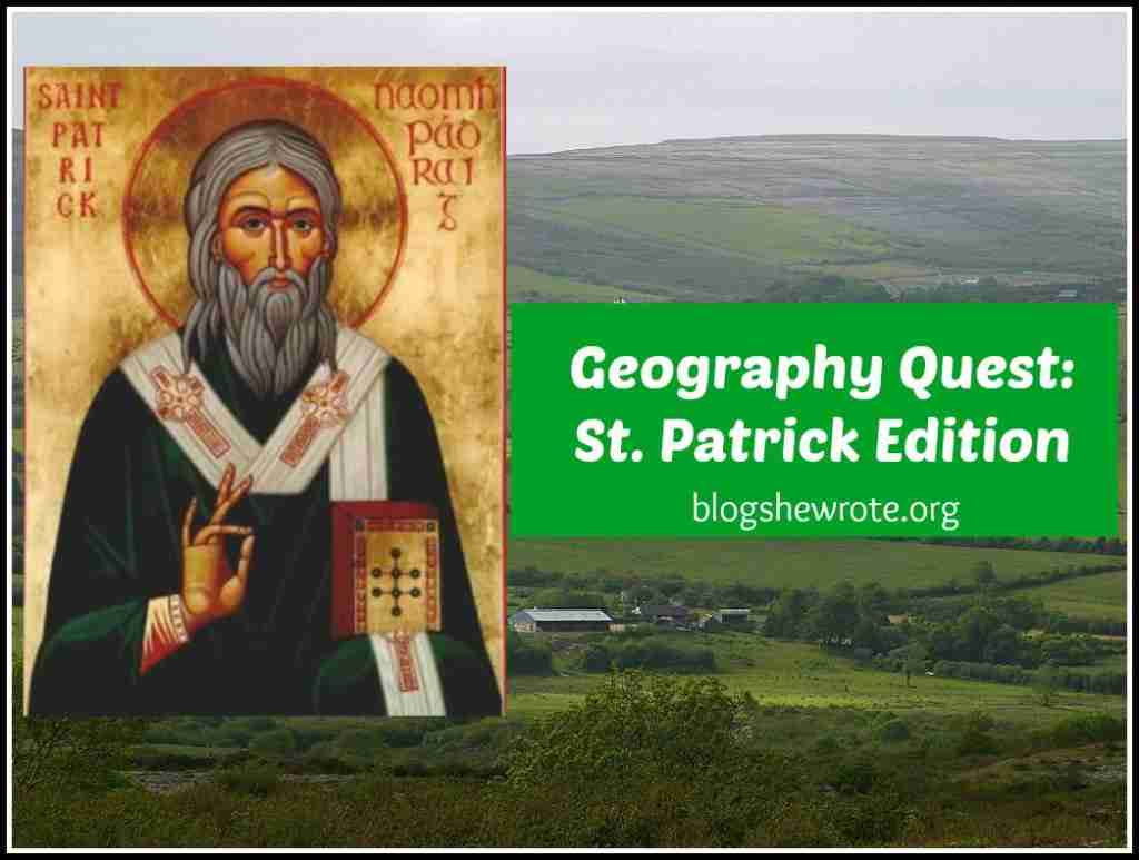 Geography Quest St. Patrick Edition