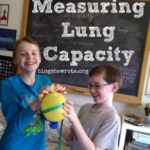 Science Quest: Measuring Lung Capacity