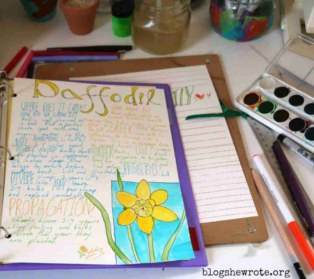 How to Make a Plant Journal
