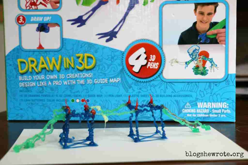 3D Pen Craft for Summer Fun