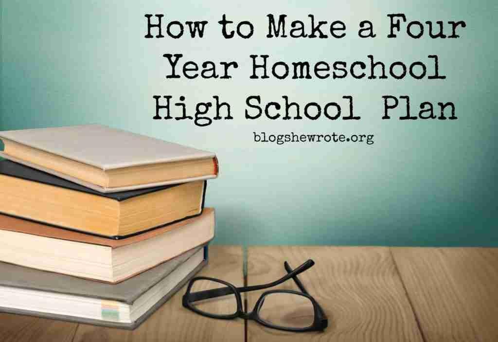 High School Plan