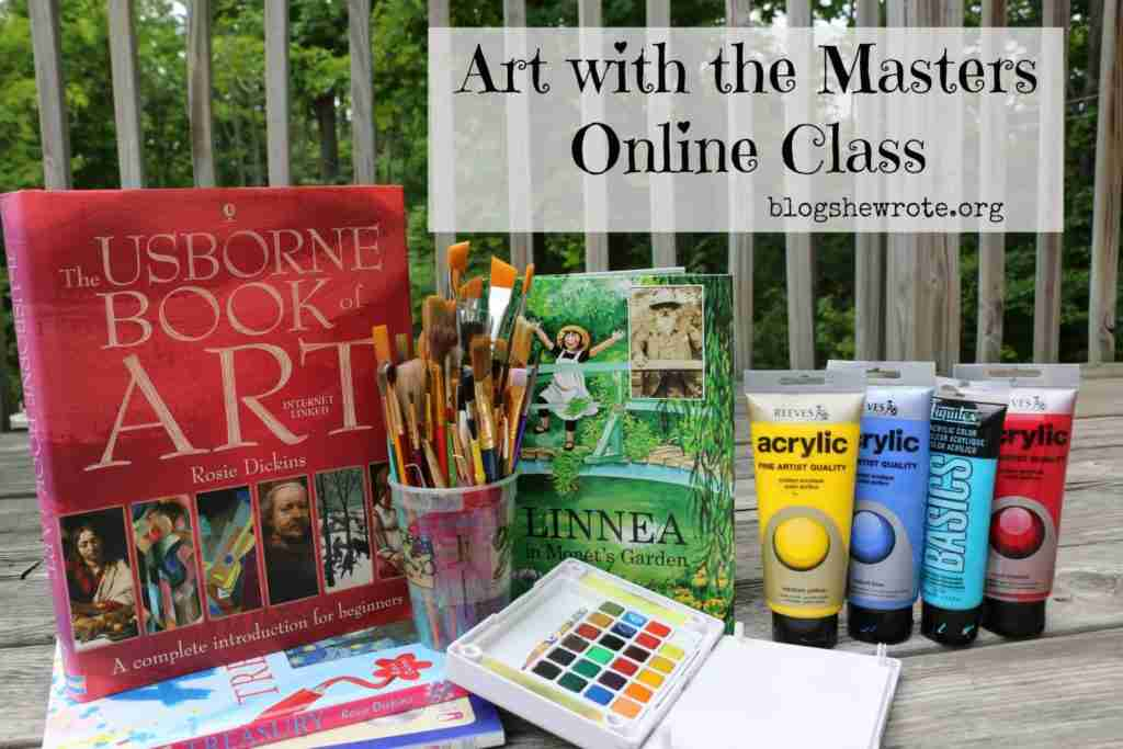 Art with the Masters Online Class
