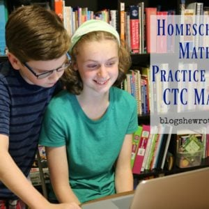 Homeschool Math Practice with CTC Math
