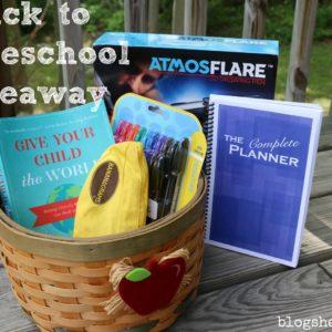 Back to Homeschool Giveaway