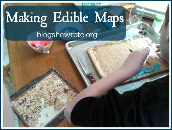 Making Edible Maps