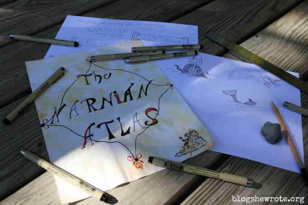 Make a Narnian Atlas