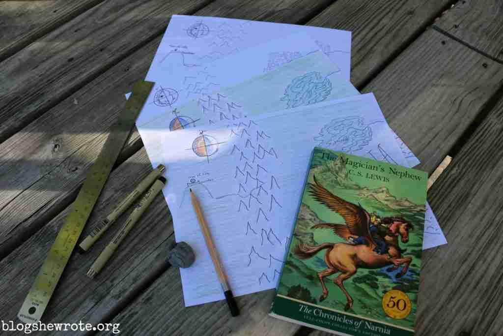 The Magician's Nephew Maps
