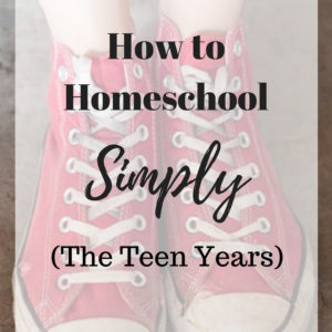Finishing Strong- Homeschooling the Middle & High School Years 110