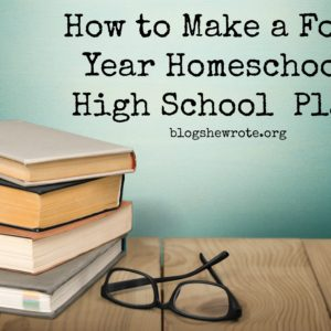 Finishing Strong- Homeschooling the Middle & High School Years 113