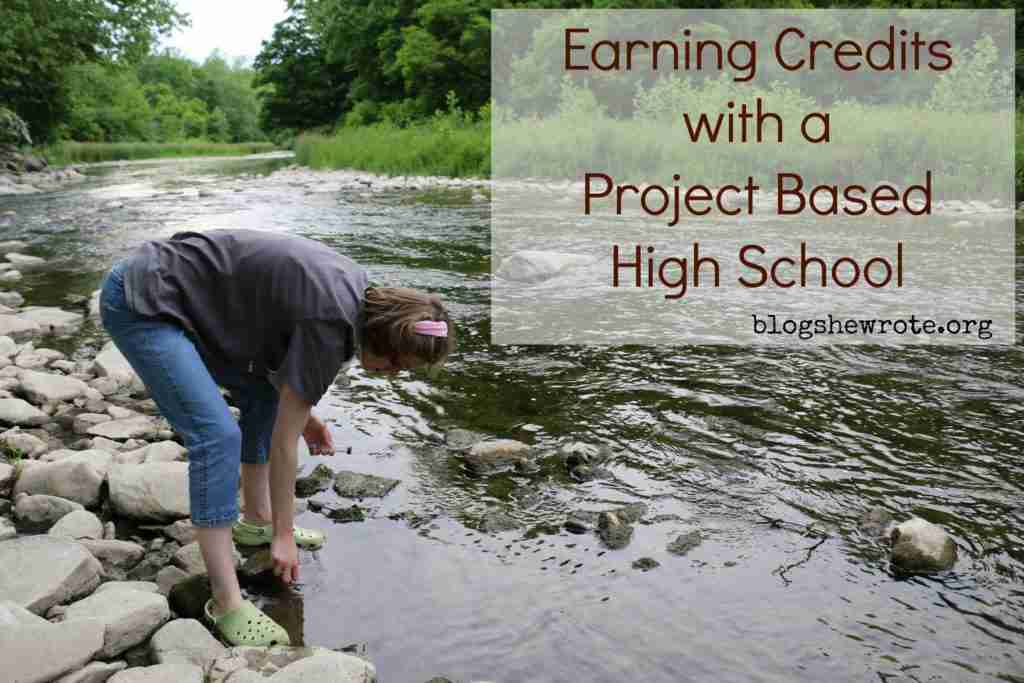 Earning Credit with a Project Based High School