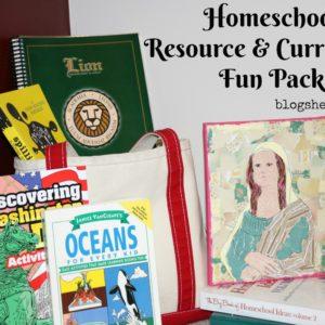 Homeschool Resource & Curriculum Fun Pack