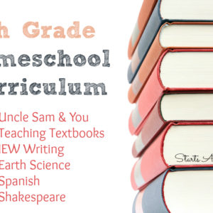 Finishing Strong- Homeschooling the Middle & High School Years 123
