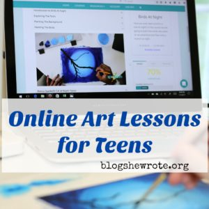 Online Art Lessons for Teens