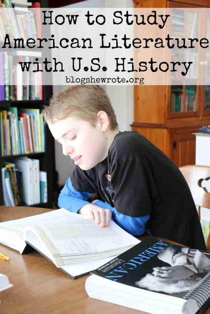 How to Study American Literature with U.S. History