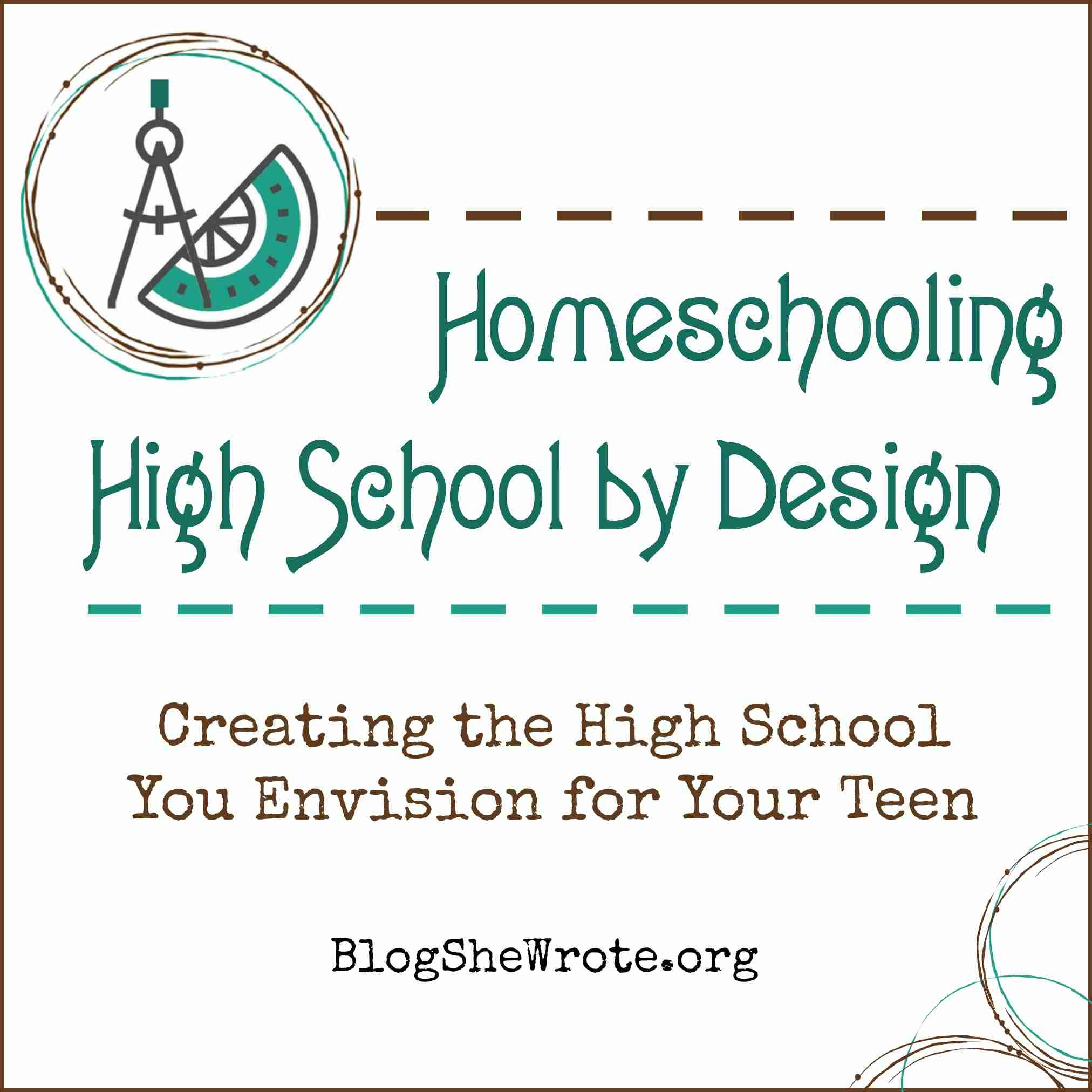Homeschooling High School by Design
