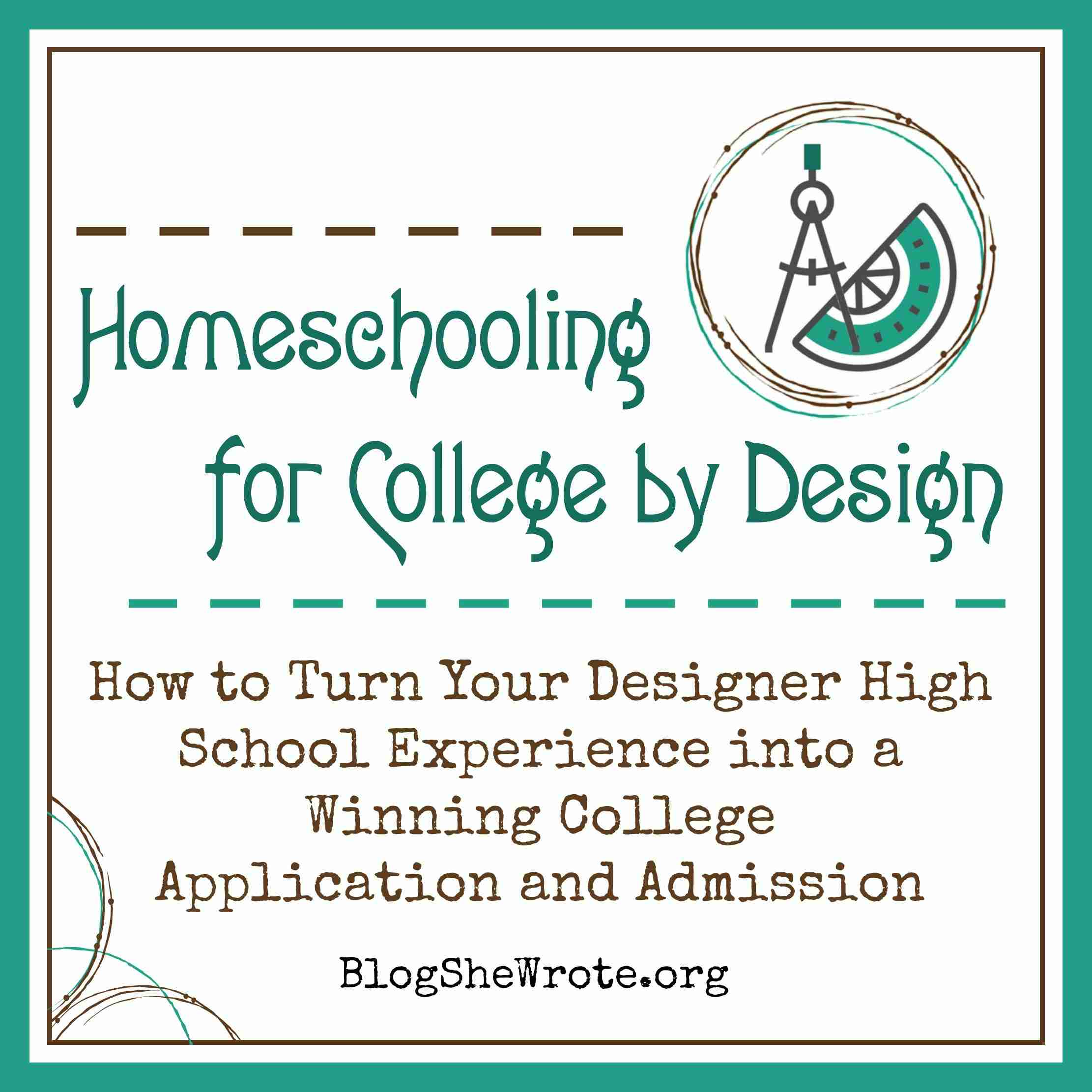 Homeschooling for College by Design