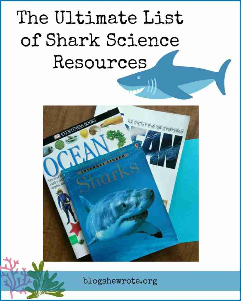 shark books on a desk