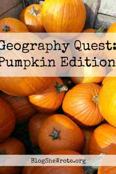 Geography Quest Pumpkin Edition