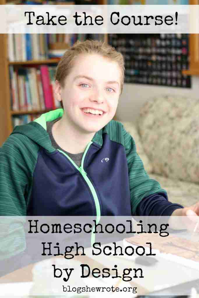 Homeschooling High School by Design eCourse