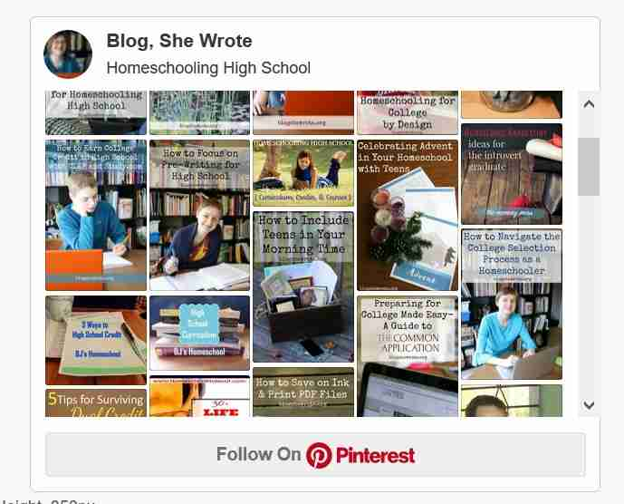 Homeschooling High School on Pinterest