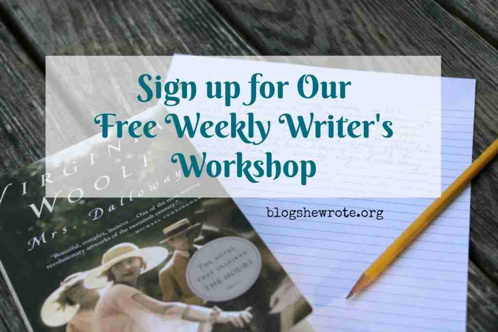 Writer's Workshop Sign Up