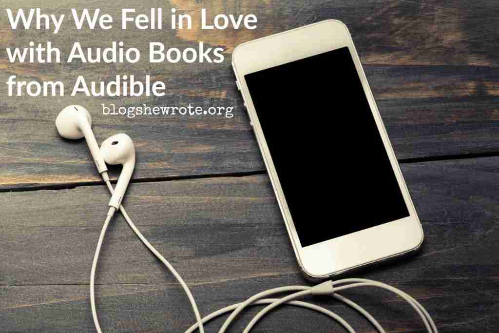 Why We Fell in Love with Audio Books from Audible- an iPhone with headphones