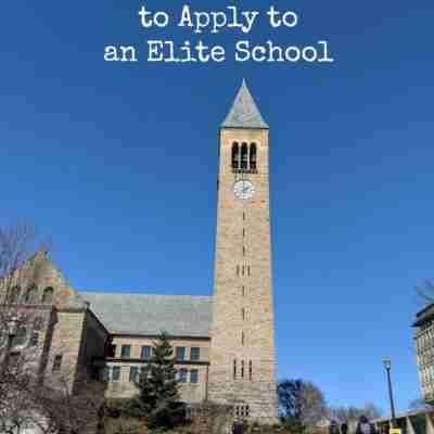 Cornell clock tower on a brilliant blue sky