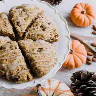 autumn treats on a table