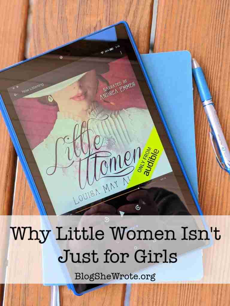 Why Little Women Isn't Just for Girls- Audio Book on a Kindle