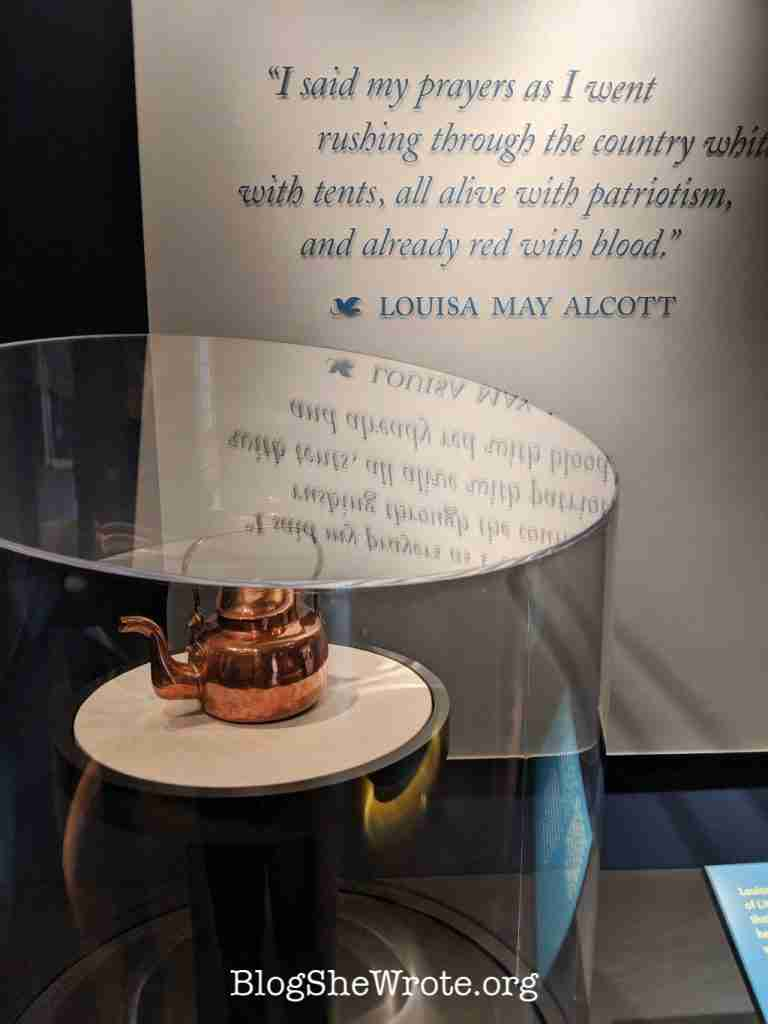Why Little Women Isn't Just for Girls- tea kettle from the Concord Museum